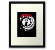 Hawk Shot Framed Print