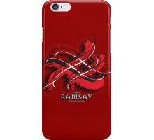 Ramsay Tartan Twist iPhone Case/Skin