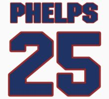 Basketball player Michael Phelps jersey 25 by imsport