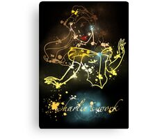 Painting beauty Canvas Print