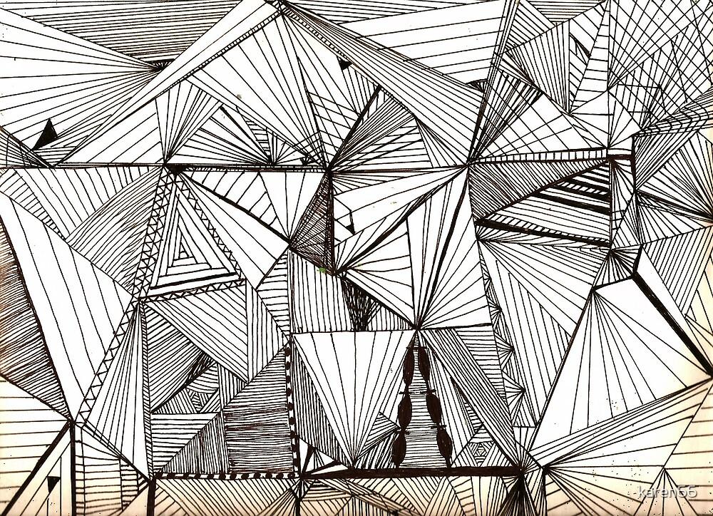Black Cubist by karen66