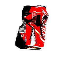 Red Can Photographic Print