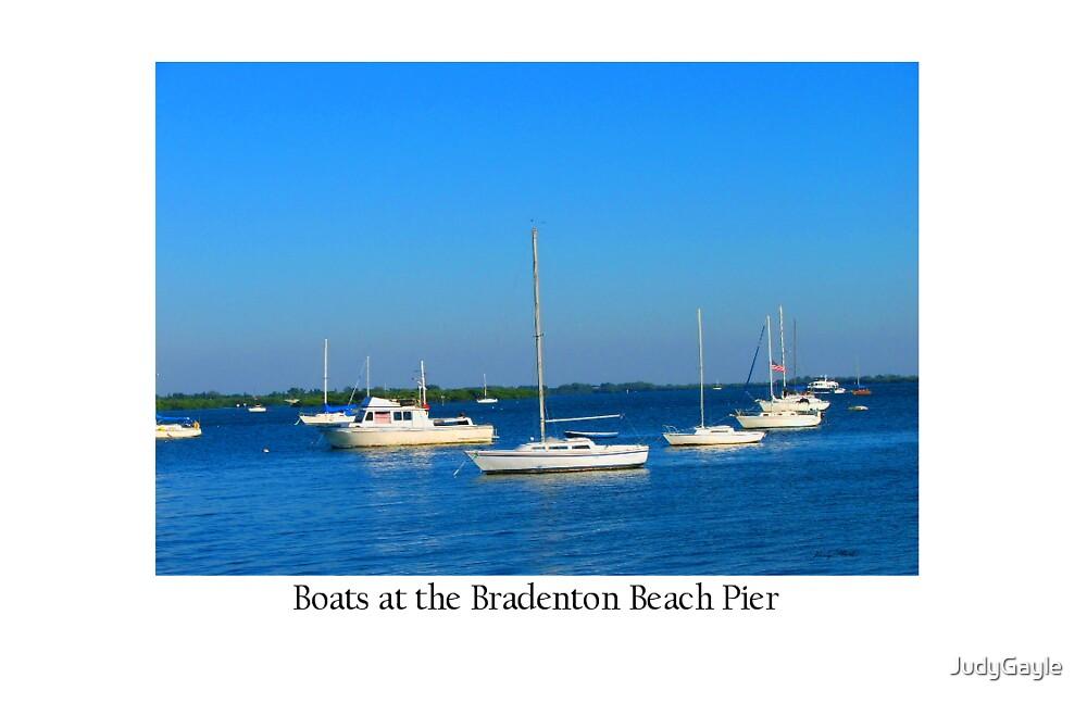 Sail Boats by Judy Gayle Waller