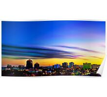 The Color of Downtown Albuquerque Poster