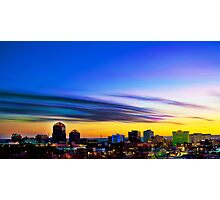 The Color of Downtown Albuquerque Photographic Print