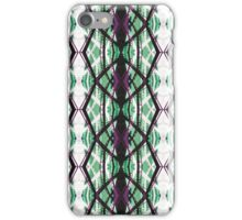 Imaginary architecture green iPhone Case/Skin