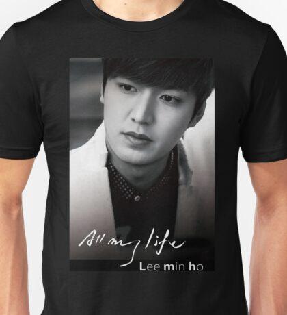 Lee Min Ho - All My Life Unisex T-Shirt