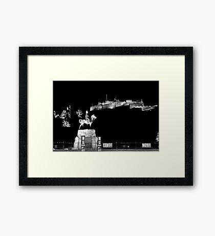 """""""The Sentry"""" Framed Print"""
