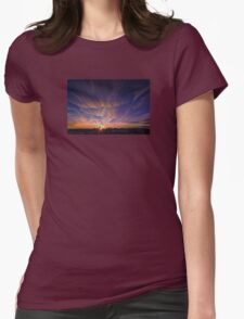 Painted Sky Womens Fitted T-Shirt