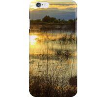 Upper Bittell canal feeder - colour photograph iPhone Case/Skin