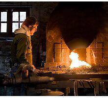 The Blacksmith  Photographic Print