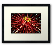 """Ferris Wheel"" Framed Print"