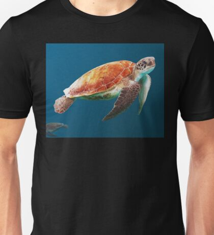 Sea Turtle Painting Unisex T-Shirt