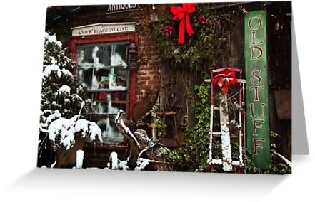 Christmas Past by Jeanne Sheridan