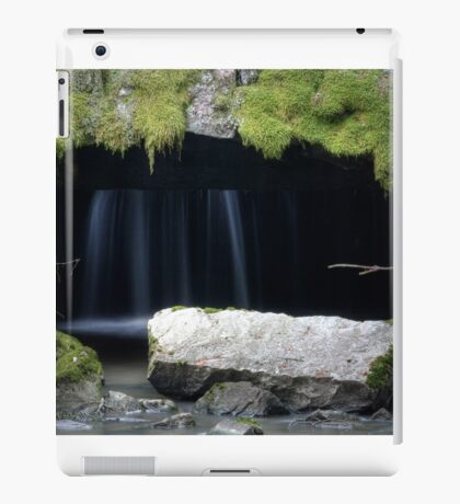 1.12.2014: Water Flows Through Old, Abandoned Mill iPad Case/Skin