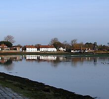 Langstone Habour - the other side by Sharon Perrett