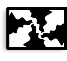 1 Frustrated Puzzle By Chris McCabe - DRAGAN GRAFIX Canvas Print