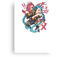 Jinx & Vi Canvas Print