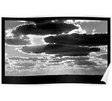 Sunset Rays over Aquinna Poster