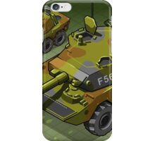 Isometric Tank Two Version iPhone Case/Skin
