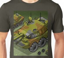 Isometric Tank Two Version Unisex T-Shirt