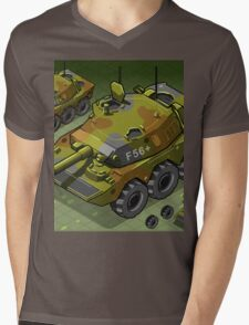 Isometric Tank Two Version Mens V-Neck T-Shirt