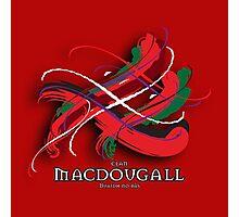 MacDougall Tartan Twist Photographic Print