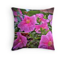 A Few Flowers Throw Pillow