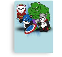 The PandAvengers Canvas Print