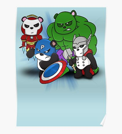 The PandAvengers Poster