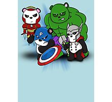 The PandAvengers Photographic Print