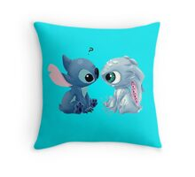 Fizz and Stitch Throw Pillow