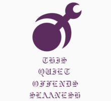 This quiet offends Slaanesh! Kids Clothes