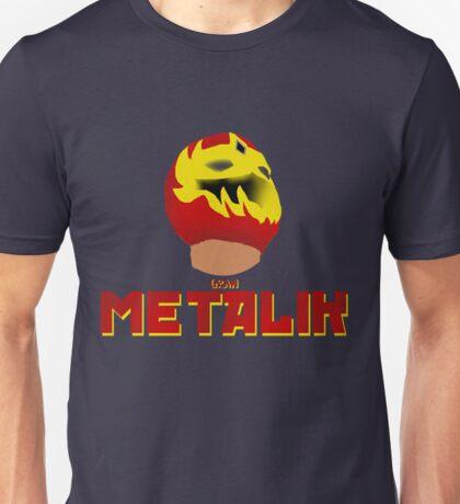METALIK! | Mascara Dorada Unisex T-Shirt