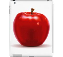 Red Apple Isolated on White iPad Case/Skin