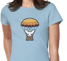 Para-Chi-Chute Womens Fitted T-Shirt