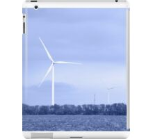Wind turbine. Toned. iPad Case/Skin