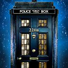 Detective Phone box with 221b number by NadiyaArt
