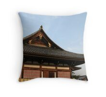 Kyoto Temple Throw Pillow
