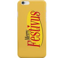 merry festivus (red) iPhone Case/Skin