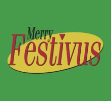 merry festivus (red) Kids Clothes