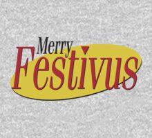 merry festivus (red) Kids Clothes