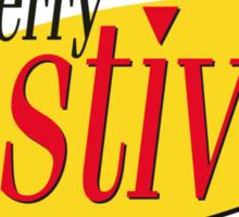 merry festivus (red) Sticker