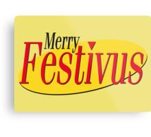 merry festivus (red) Metal Print