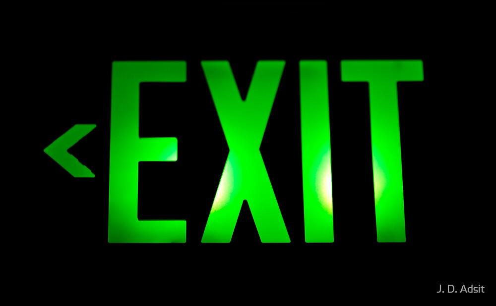 The Exit by J. D. Adsit