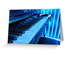 All Blues Greeting Card