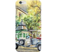 A Beautiful Car In Budapest iPhone Case/Skin