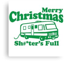 Merry Christmas, The Shitters Full Canvas Print