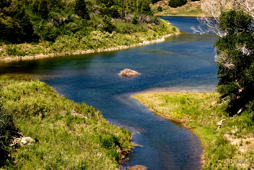 Ouinta Mountain Waterway by J. D. Adsit