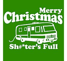 Merry Christmas, The Shitters Full Photographic Print